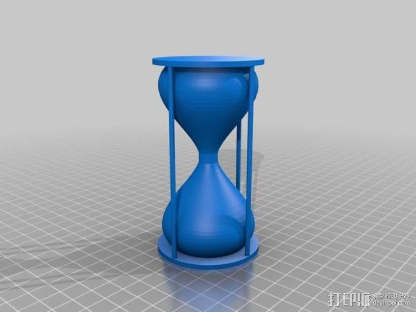 沙漏 3D模型  图1