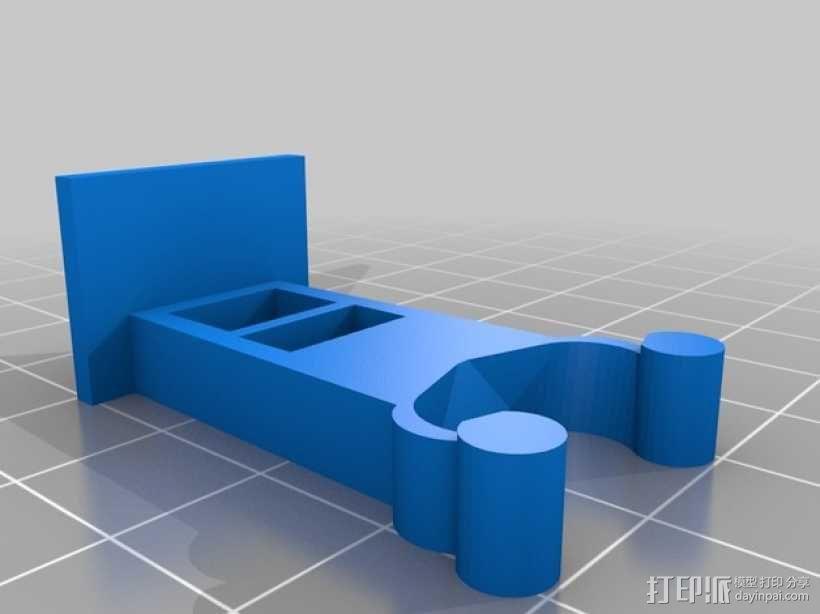 剃须刀/镊子/剪刀架 3D模型  图2