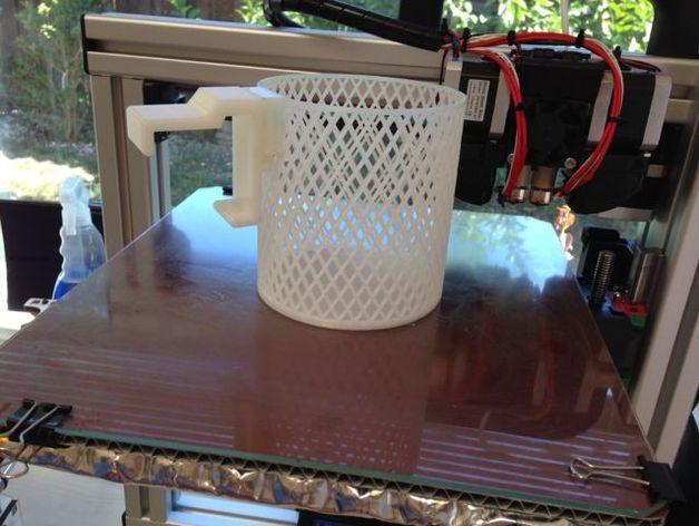 宜家Kura床夹式篮子 3D模型  图4