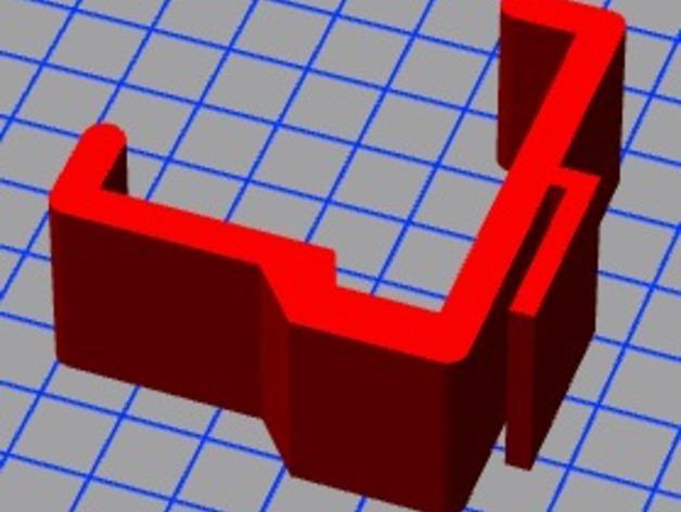 宜家Kura床夹式篮子 3D模型  图8