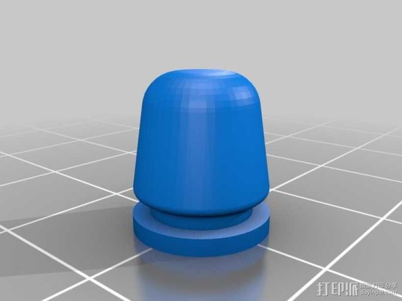 迷你耳塞 3D模型  图2