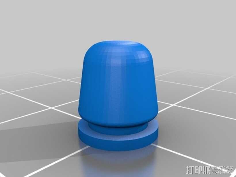 迷你耳塞 3D模型  图4