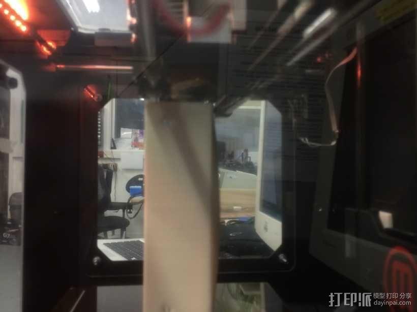 博世冰箱把手零部件 3D模型  图4