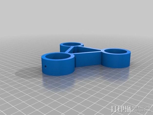 耳机/控制器架 3D模型  图3