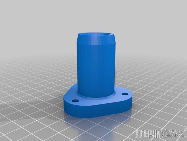 软管连接器 3D模型  图3