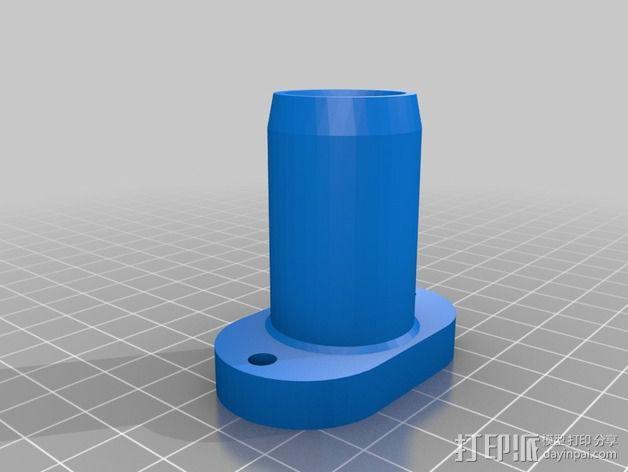 软管连接器 3D模型  图4