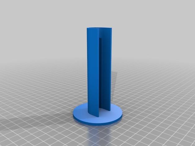 剃须刀站架 3D模型  图2