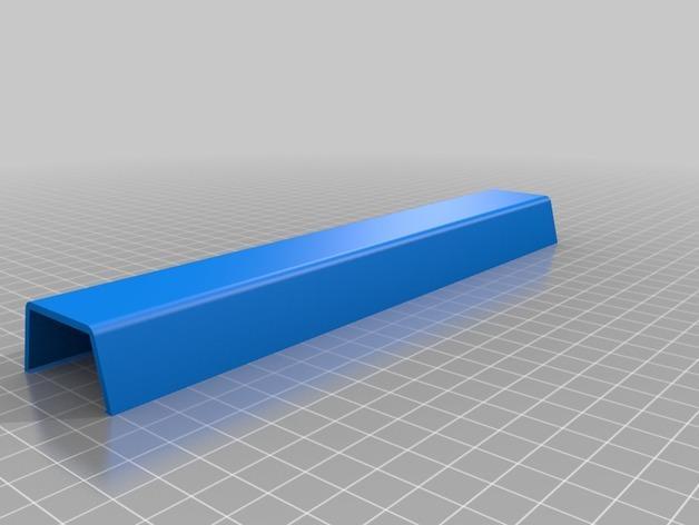 平板电视护线盖  3D模型  图3