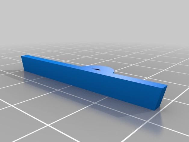 平板电视护线盖  3D模型  图2
