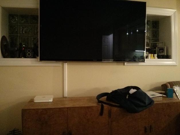 平板电视护线盖  3D模型  图5