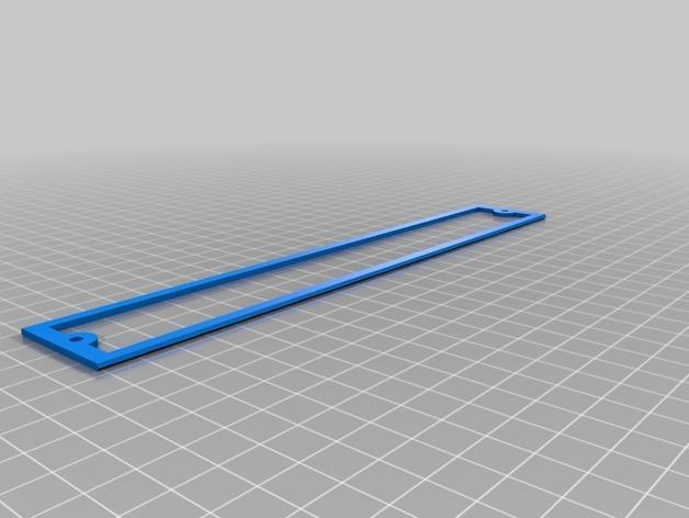 平板电视护线盖  3D模型  图4
