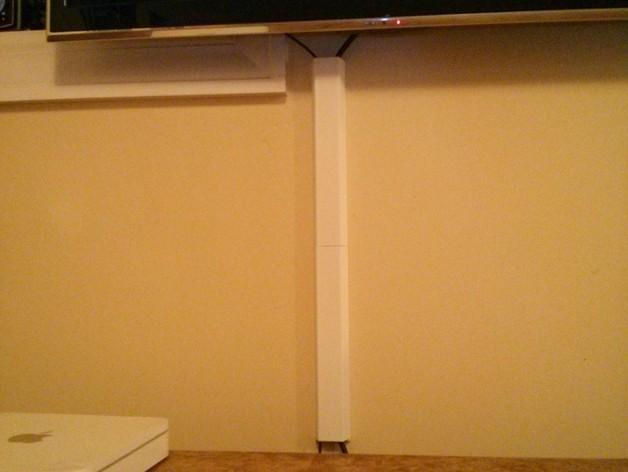 平板电视护线盖  3D模型  图8