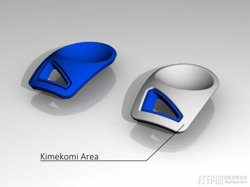迷你智能化底座 3D模型  图5