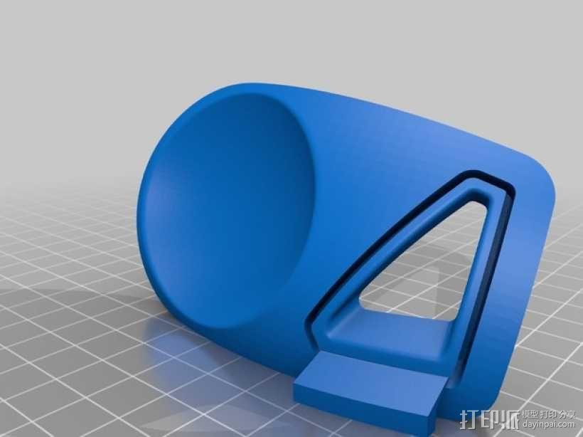 迷你智能化底座 3D模型  图6