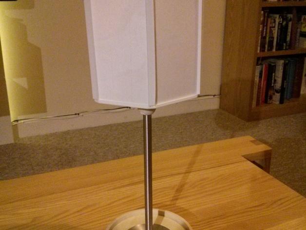 透光浮雕灯罩 3D模型  图3