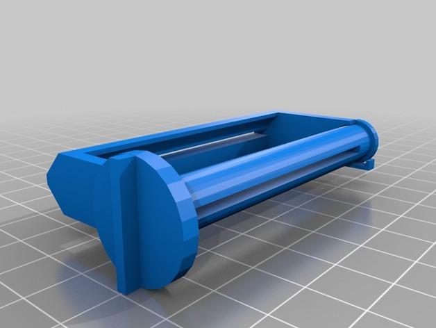 简易牙膏挤出装置 3D模型  图1