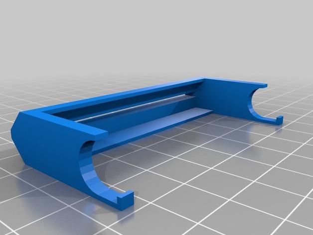 简易牙膏挤出装置 3D模型  图3