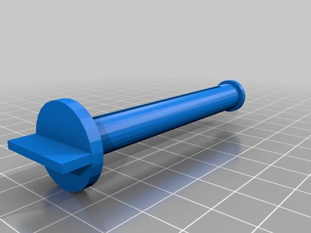 简易牙膏挤出装置 3D模型  图2