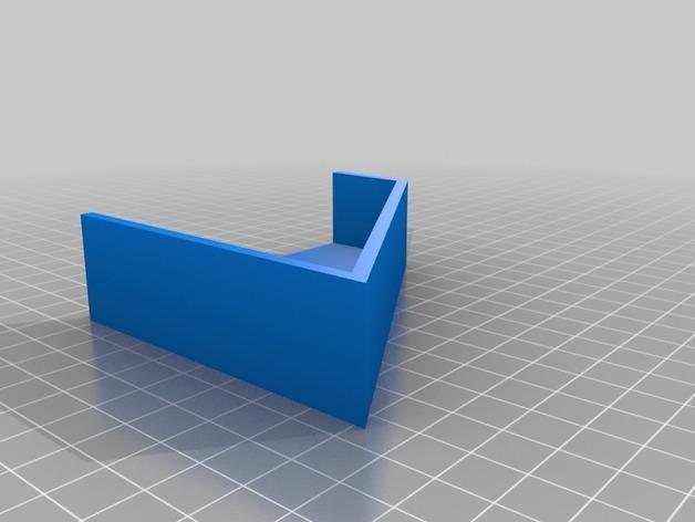 Kleenex面巾纸盒架 3D模型  图2
