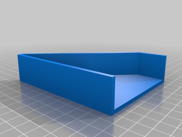 Kleenex面巾纸盒架 3D模型  图3