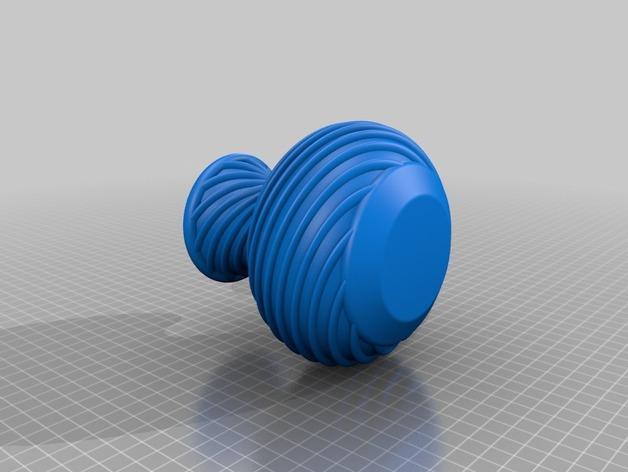 螺旋花瓶1 3D模型  图2