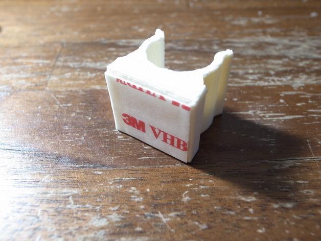 扫帚固定架 3D模型  图2