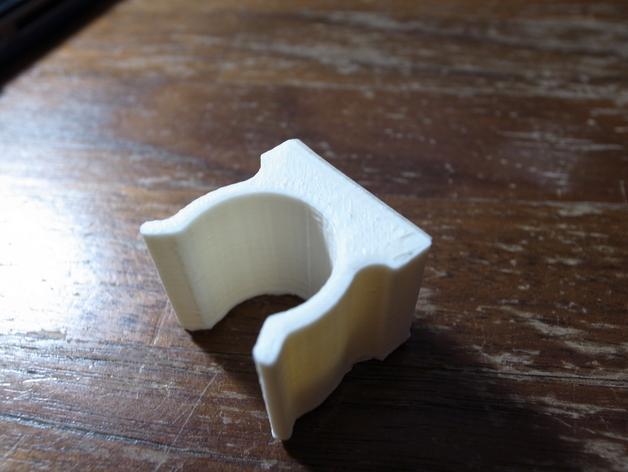 扫帚固定架 3D模型  图1
