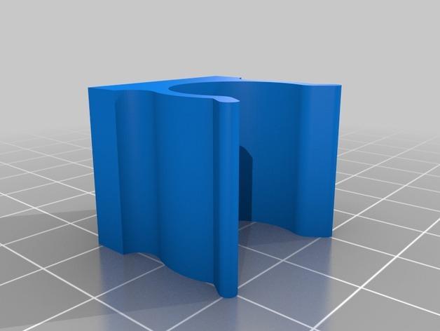扫帚固定架 3D模型  图5