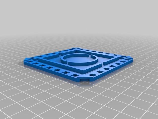 迷你杯垫 3D模型  图3