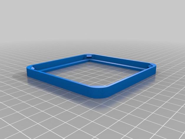 迷你杯垫 3D模型  图4