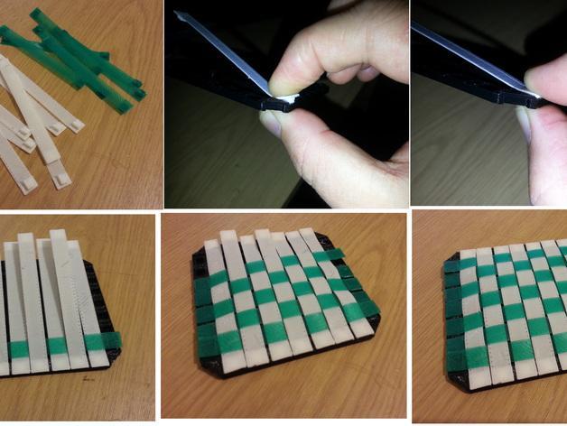 迷你杯垫 3D模型  图5