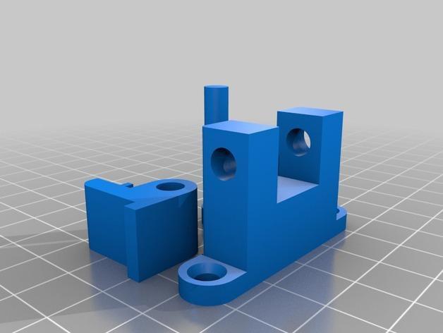 厨房窗锁 3D模型  图2