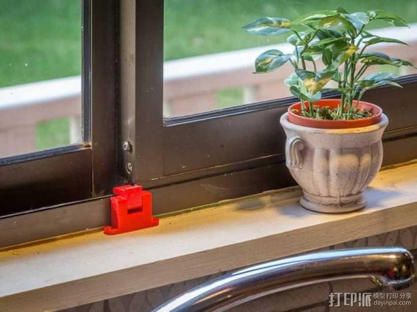 厨房窗锁 3D模型  图1