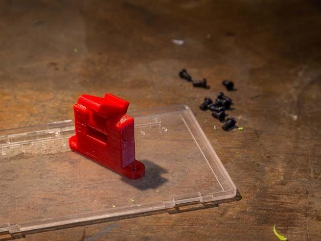 厨房窗锁 3D模型  图3