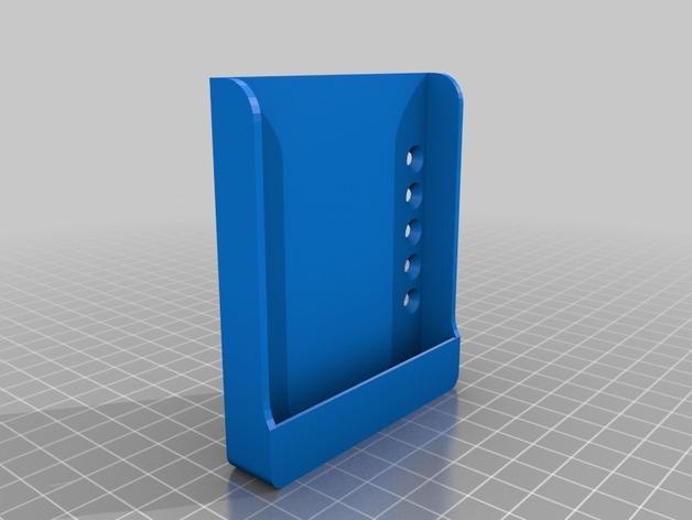 Nexus 7平板电脑/Nexus 5手机架 3D模型  图2