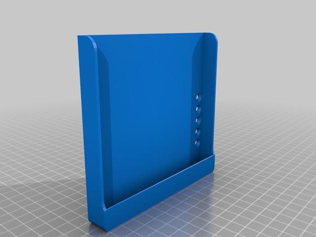 Nexus 7平板电脑/Nexus 5手机架 3D模型  图3