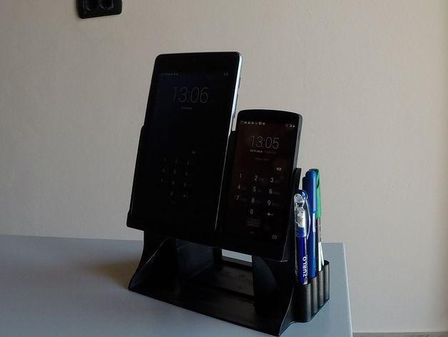 Nexus 7平板电脑/Nexus 5手机架 3D模型  图8