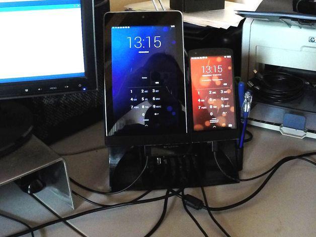 Nexus 7平板电脑/Nexus 5手机架 3D模型  图16