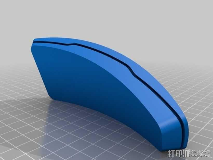 迷你智能化展示架/底座04 3D模型  图4
