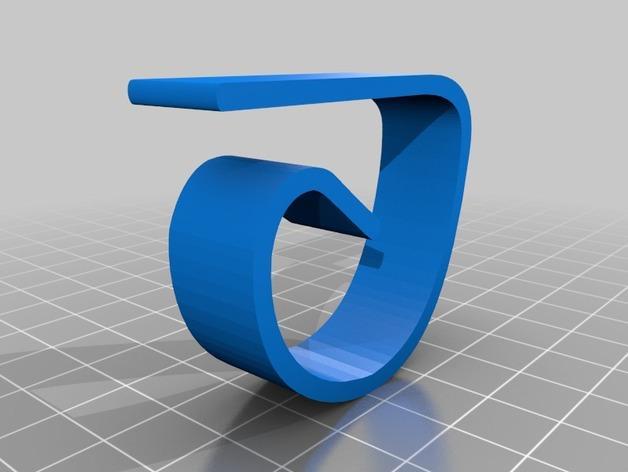 桌布夹/固定器 3D模型  图2