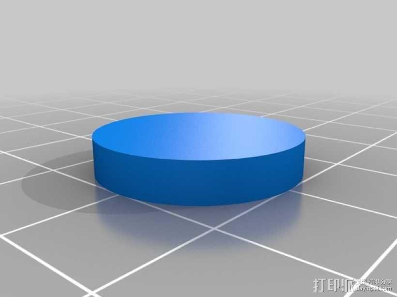 迷你向日葵 3D模型  图2