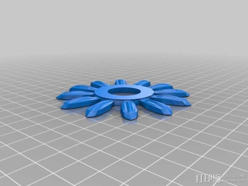 迷你向日葵 3D模型  图5