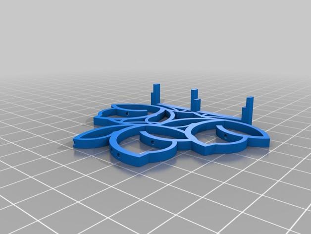 餐巾架 3D模型  图2