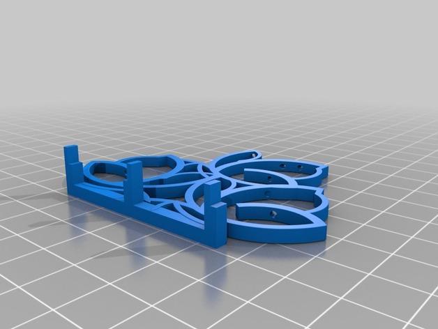 餐巾架 3D模型  图3