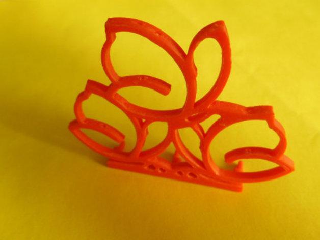 餐巾架 3D模型  图4