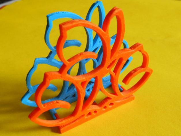 餐巾架 3D模型  图6