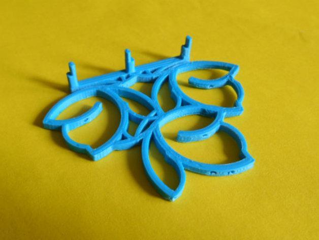 餐巾架 3D模型  图5