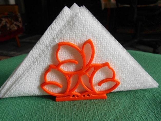 餐巾架 3D模型  图7