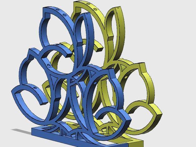 餐巾架 3D模型  图10
