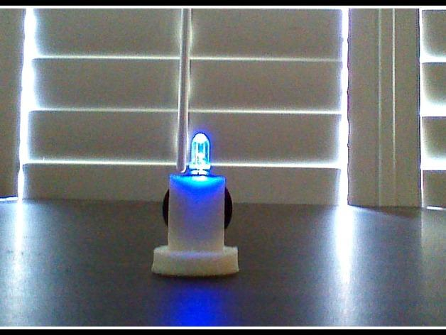 LED配适器 3D模型  图1